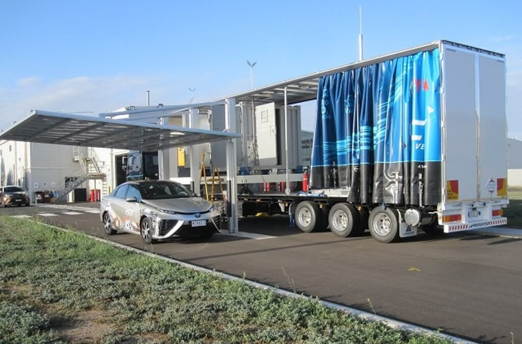 Toyota Refuelling Station and Mobile Refueller 1